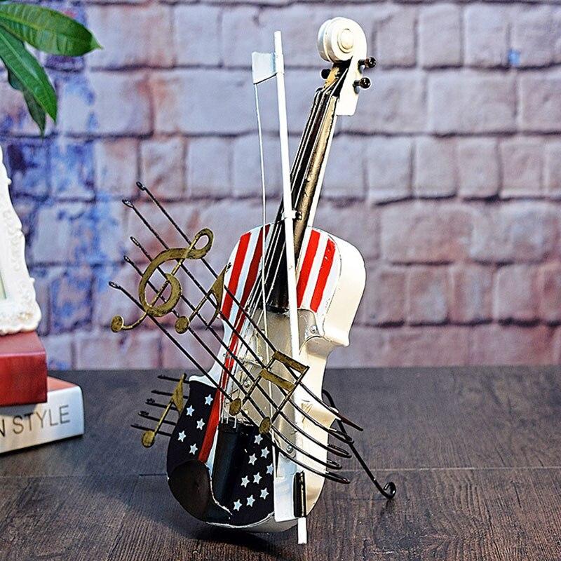 Rétro violon modèle créatif maison ornement décoration Souvenir MYDING