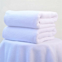 Brand New Elegant Quality Pure White Adults Big Size Thick High Water Absorbent 70x140cm Luxury Bath