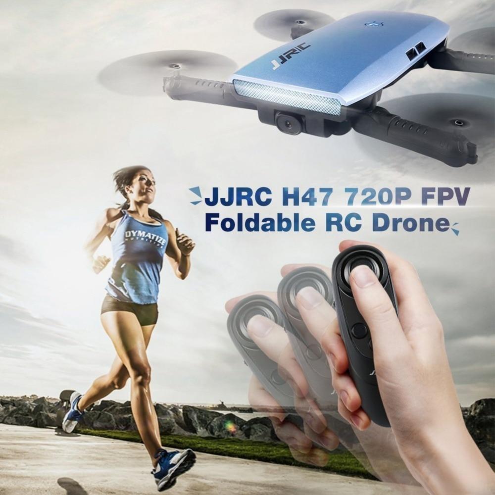 цена на JJR/C H47 ELFIE WIFI FPV Drone With 720P HD Camera Altitude Hold Mode Foldable G-sensor Mini RC Selfie Quadcopter tt