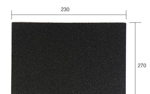 A4 Paper Size 230x270mm Sanding Paper 80-2000 Grit Fine Polishing Coarse Rough Sand Abrasive Paper Water Proof Wood Sandpaper