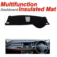 Dashboard Mat Insulated Original Factory Shape pad Protection Cover Carpet Dashmat For BMW 5 GT Gran Turismo F07 without Monitor