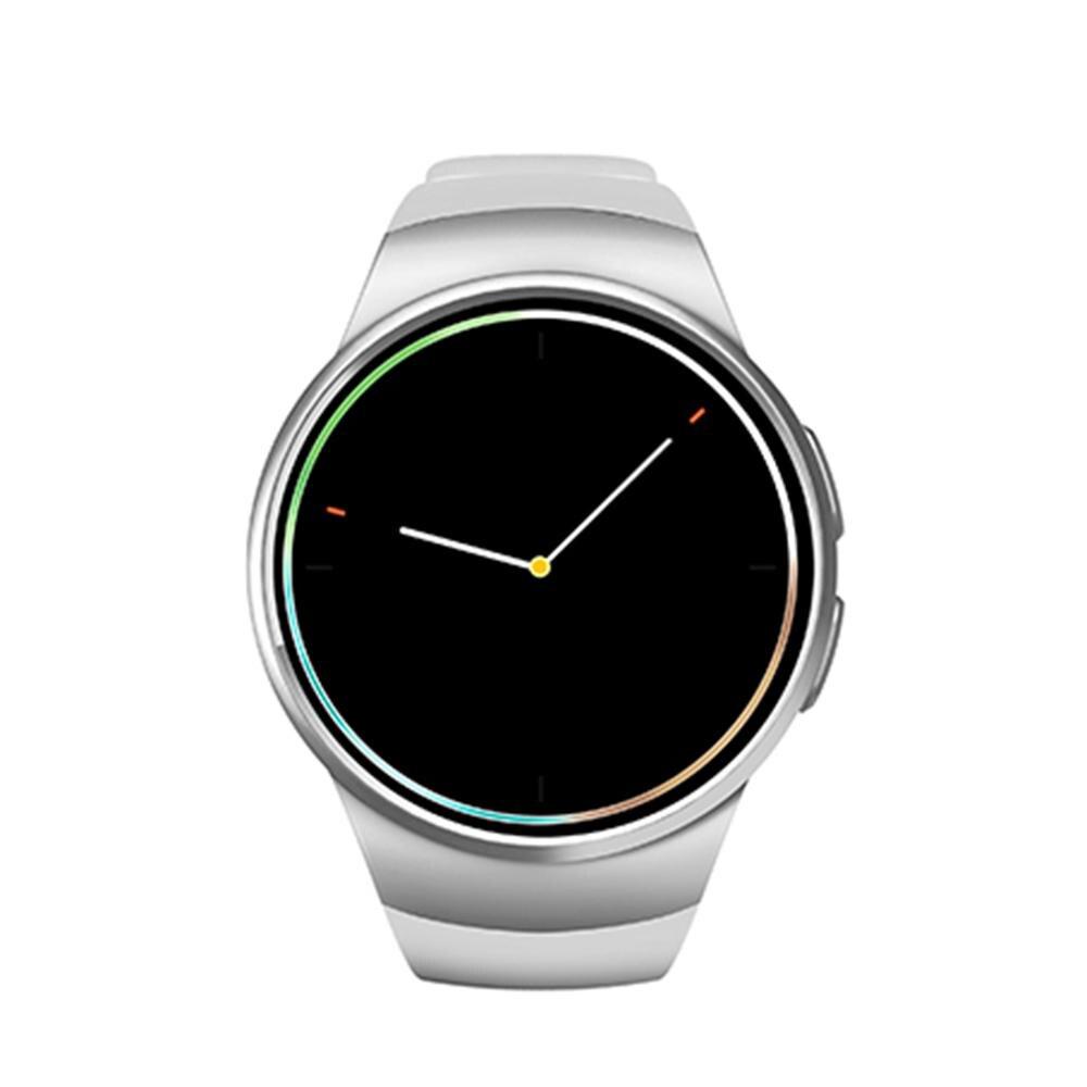 Kw18 bluetooth smart watch mujeres hombres deporte ritmo cardíaco rastreador de
