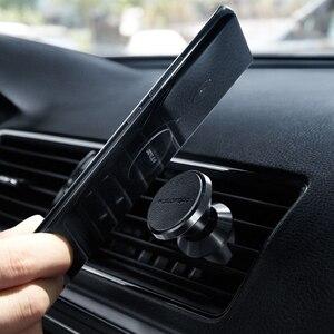 Image 2 - オリジナル xiaomi guildford 自動車電話ホルダーミニ空気出口車マウント磁気エアベント iphone xs サムスン用スタンド xiaomi