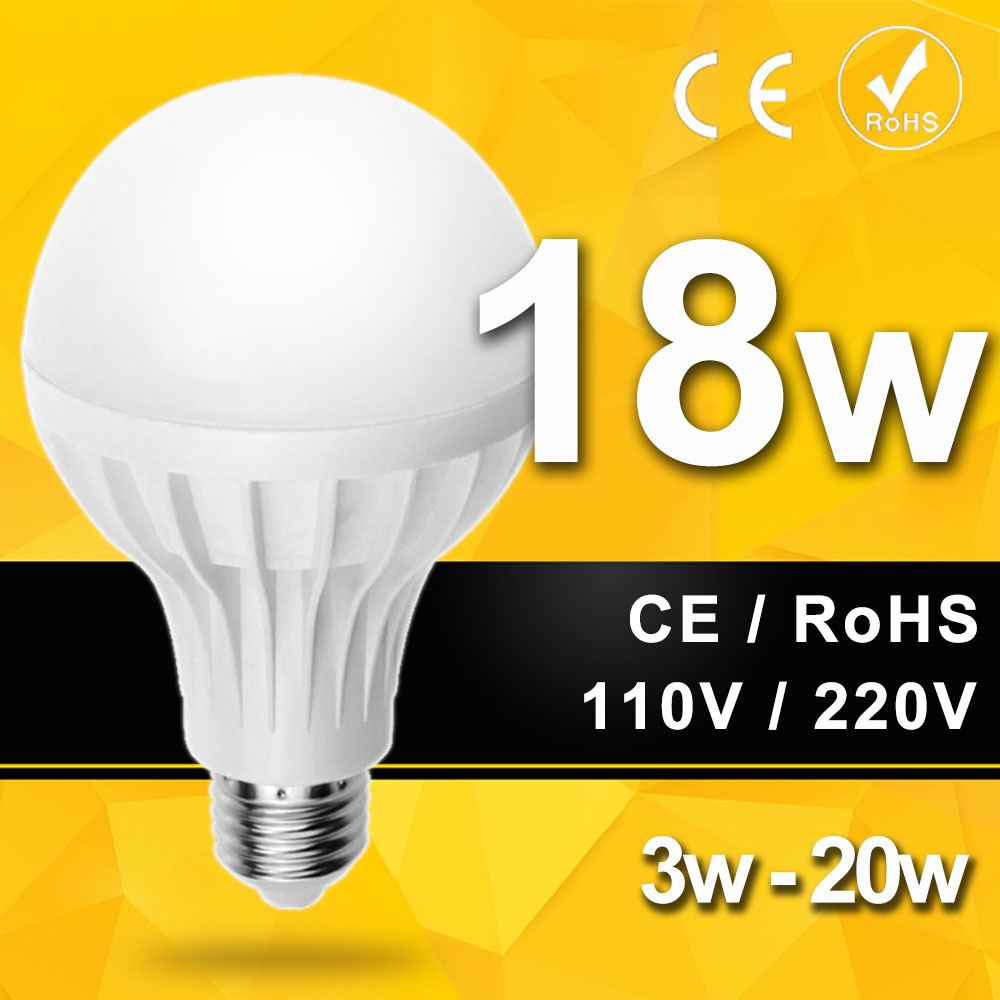 Wholesale Smd 5730 E27 Led Light Bulb 3w 5w 7w 9w 12w 15w 18w 20w Led Lamp 220v 110v Cold Warm