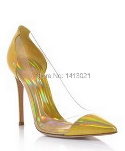 Gianvito Rossi Clear Pvc Pumps Shoes Genuine Leather High Heel Sandals  Original Package Quality Guaranteed European Size 34 41-in Women s Pumps  from Shoes ... 1d56c58d6243