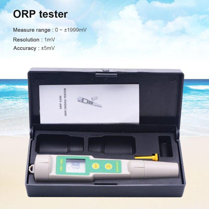 SHGO HOT-Professional 169E ОВП детектор редокс-тестер водонепроницаемый ОВП метр Ph измерительный инструмент