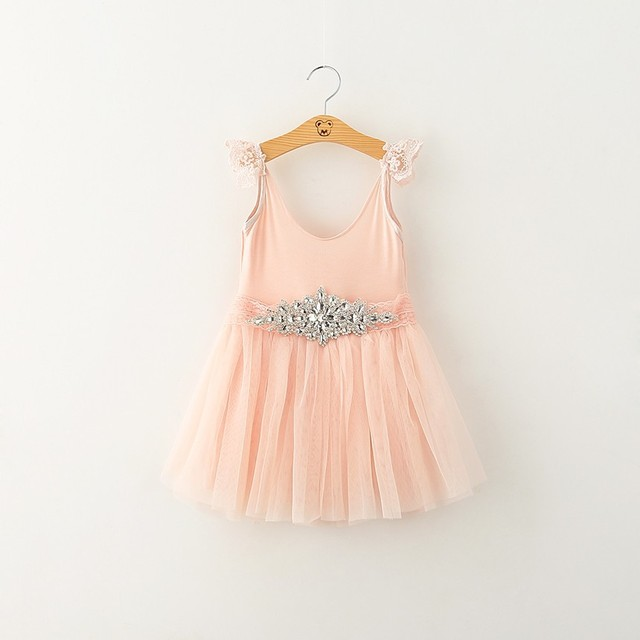 87781c75f 2015christmas baby chiffion princess dress with rhinestone belt flower girls  dresses for party and wedding