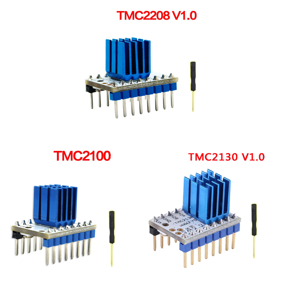 3D Printer MKS TMC2208 V1.0 drive ultra-quiet drive with a separate heat  sink