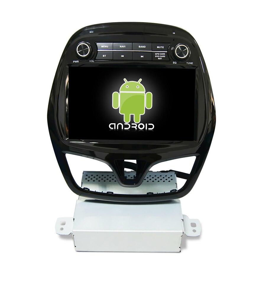Lecteur dvd de voiture de base de Navirider Android 8.1.0 octa pour Chevolet étincelle accessoires de voiture gps navigation radio multimédia stéréo HU
