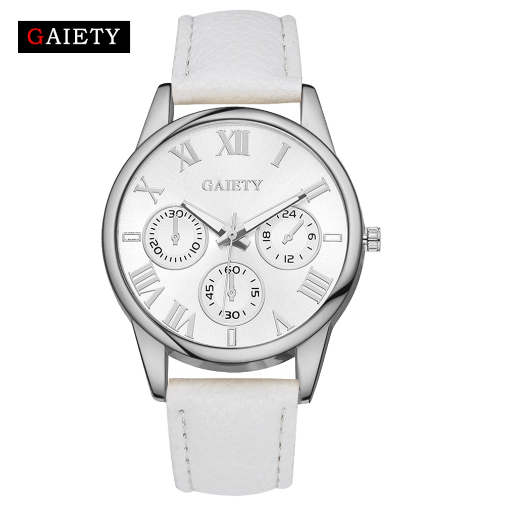 Casual Luxury Brand Quartz Watch Women Watches Ladies Leather Fashion Dress Wristwatch Montre Femme Relogio Feminino G113 new top brand guou women watches luxury rhinestone ladies quartz watch casual fashion leather strap wristwatch relogio feminino