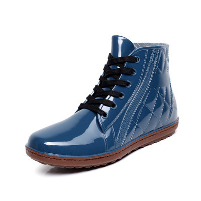 aliexpress  buy lace up men pvc rain boots ankle