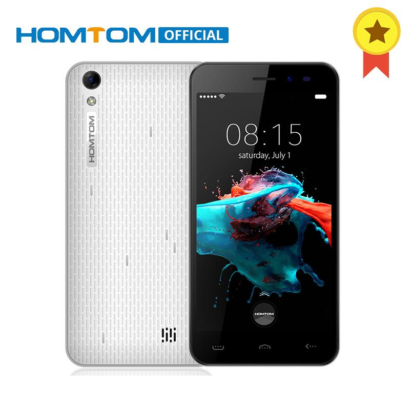 Оригинальный HOMTOM HT16 MTK6580 Quad Core Android 6.0 1 ГБ оперативной памяти 8 ГБ ROM смартфон 5.0 дюймов 1280x720 3000 мАч 3 г wcdma мобильного телефона