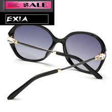 Graduated Color Lenses Polarization UVA Women Sunglass Fashion Brand EXIA OPTICAL KD-2519 Series