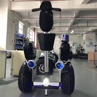 Smart Hoverboard Off road Police Patrol Scooters 2400W Brushless DC Motor 2 Wheel Electric Scooter with Strong Climb Capability