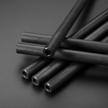 14mm O/D Seamless Steel Pipe Tool Part Explosion-proof Tool Part Material Seamless Tube for Home DIYprint black(China)