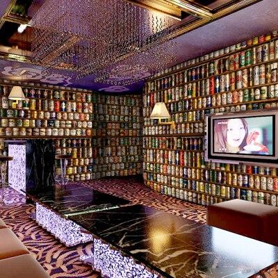 Beer filling large mural custom 3D wallpaper backdrop 3D wallpaper 3d stereo bar ktv personality