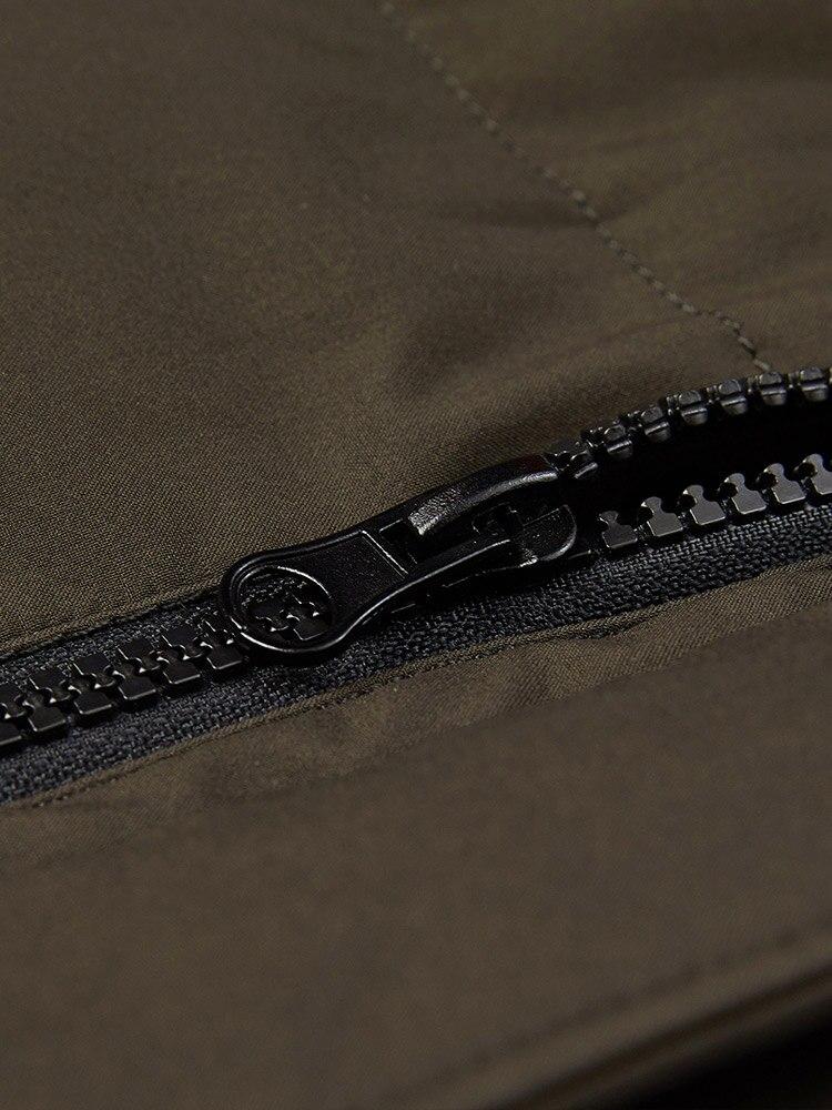 BOSIDENG inverno addensare down jacket per gli uomini con cappuccio giù cappotto caldo outwear mid lungo regular top impermeabile sei colori b80141021 - 6