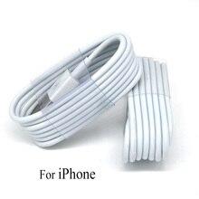 1 м/2 м/3 м зарядный кабель для iPhone 8 7 6 plus 6s 5 5S se Универсальный зарядный передающий данные кабель для iPhone X XS