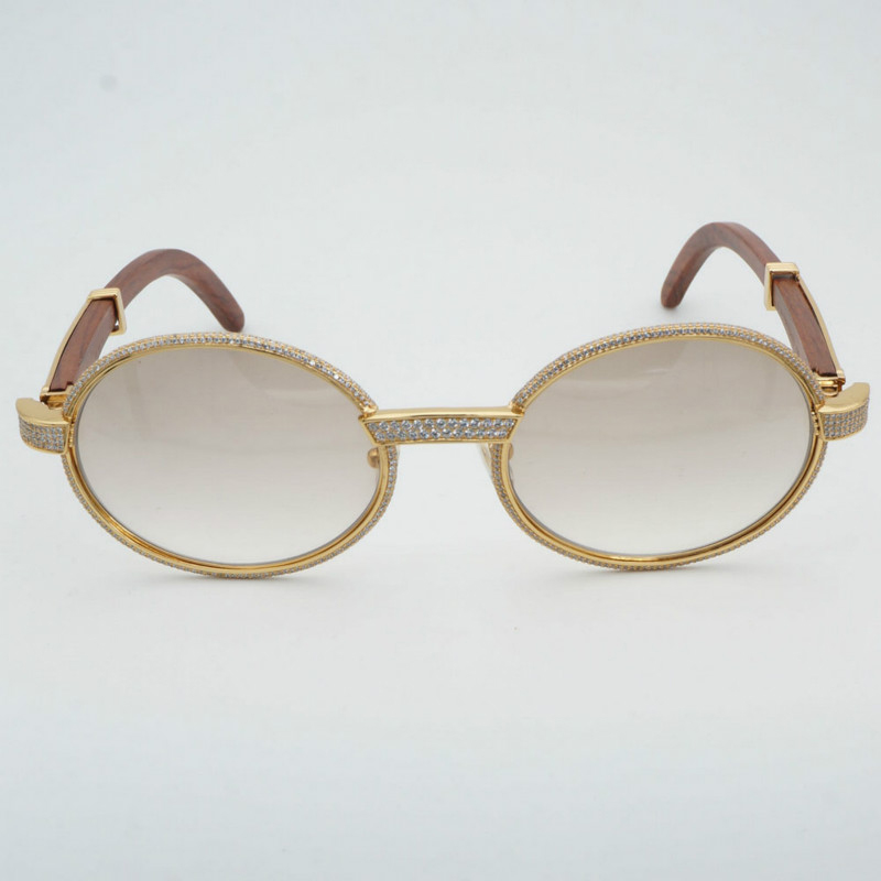 816728a6841 Handmade Luxury DIAMOND Designer Carter Sunglasses Men Rhinestone Carter  Glasses. 100% Brand New