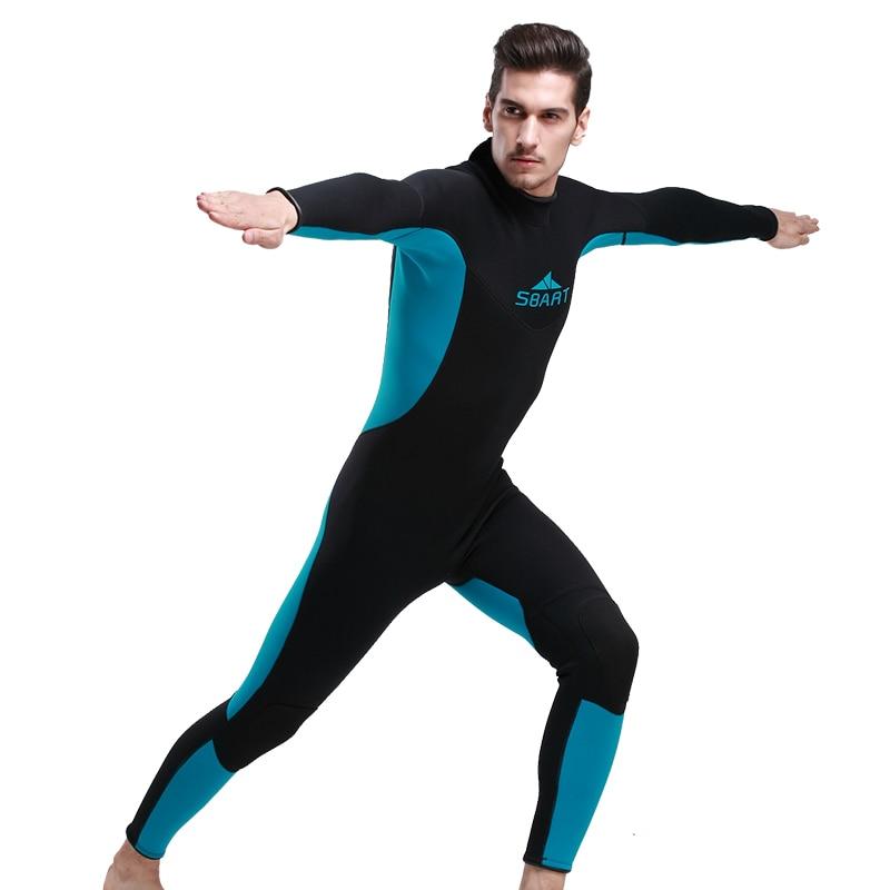 3mm Neoprene Scuba Dive Wetsuit For Men Spearfishing Wet Suit Surf Diving Equipment Split Suits Spear Fishing S-XXL slinx two piece men camouflage wet suit swimwear with headgear 5mm neoprene camo scuba diving suit for fishermen spearfishing