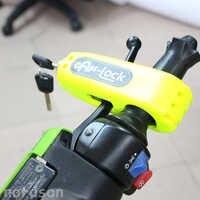 Nuoxintr motorcycle handlebar lock Brake Throttle Grip Security Lock Motorbike scooter handle safety Lock anti Theft Protection