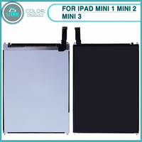 new For ipad mini 1 mini 2 Mini 3 A1489 A1490 A1455 LCD Display Screen Monitor Module Replacement
