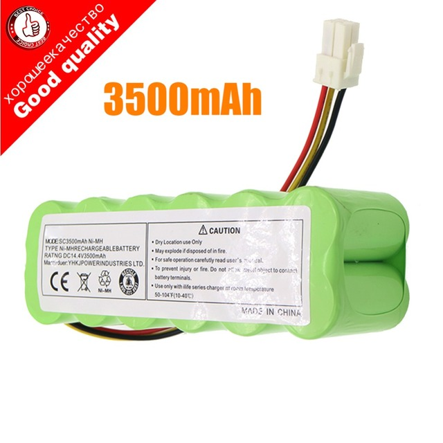 14.4V 3.5Ah NI MH pil paketi Samsung NaviBot SR8840 için SR88XX serisi elektrikli süpürge SR8840 SR8845 SR8855 SR8895 VCA RBT20 pil