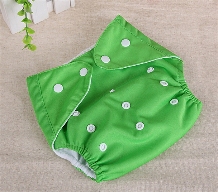 10pcs Lot Children Cloth Diaper Baby Diapers Adjustable Diaper Cover Reusable Nappies Free Shipping QD22