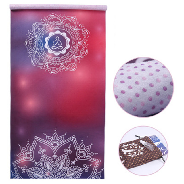 Yoga Mat Towel Microfiber Absorb Sweat