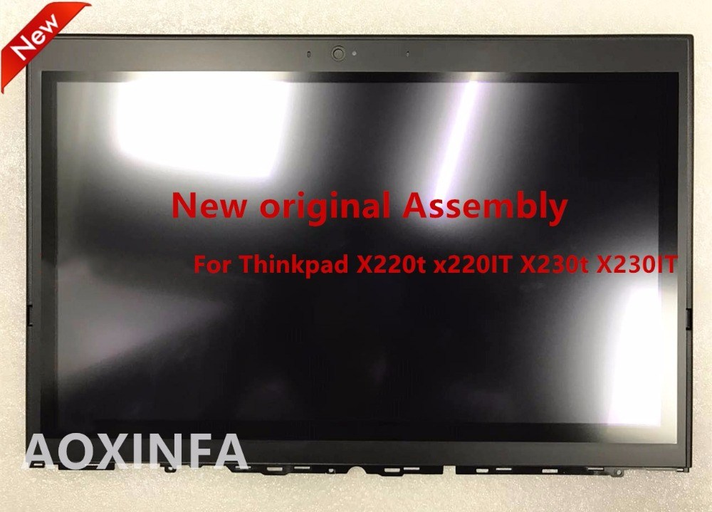 Laptop LCD Touch Screen For LENOVO For Thinkpad X220t x220IT X230t X230IT FTU3-12WO4C-03X 42.4KJ02.005 multitouch LP125WH2-SLB3 20v 4 5a 90w adlx90ndc2a 36200285 45n0243 45n0244 laptop ac adapter for lenovo thinkpad x1 carbon series touch ultrabook