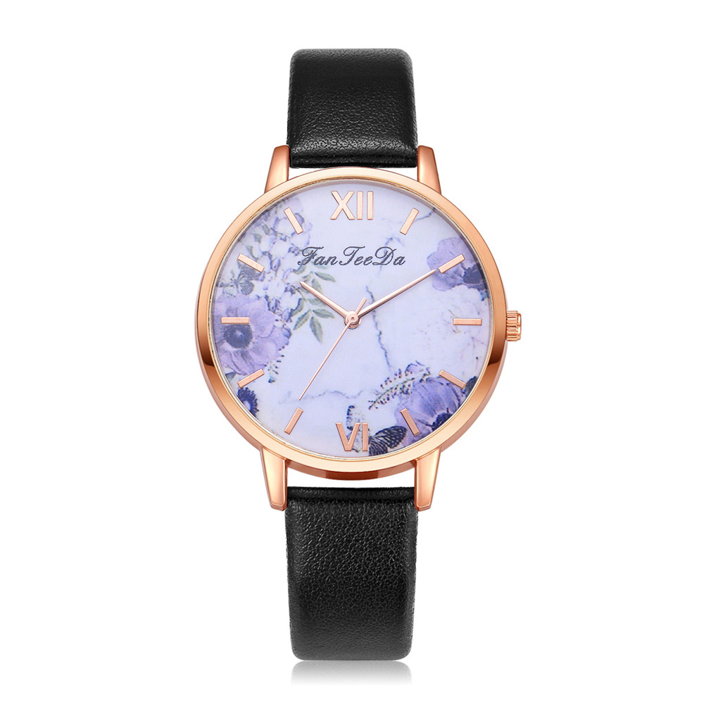 Famous Female Clock Quartz Watch Flowers Wristwatches New Arrival Ladies Wrist Watch Women Top Montre Femme Relogio Feminino999Famous Female Clock Quartz Watch Flowers Wristwatches New Arrival Ladies Wrist Watch Women Top Montre Femme Relogio Feminino999