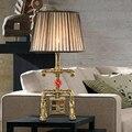 Железная водопроводная лампа Лофт винтажная лампа водопроводная труба Персонализированная уникальная настольная лампа