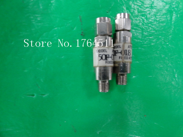 [BELLA] JFW 50F-018 DC-2GHz 18dB 2W SMA RF Coaxial Fixed Attenuator  --10PCS/LOT