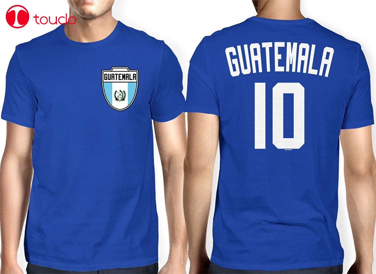 Double Side T-Shirt 100% Cotton Fashion Men's Guatemala Guatemalan Soccers Footballer T-Shirt Hoodies