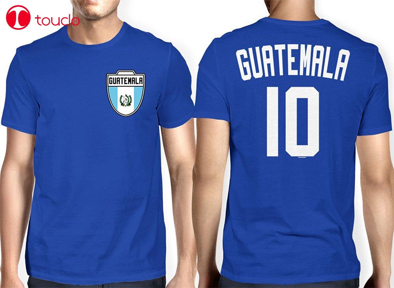 Double Side T-Shirt 100% Cotton Fashion Men's Guatemala Guatemalan Soccers Footballer T-Shirt Hoodies