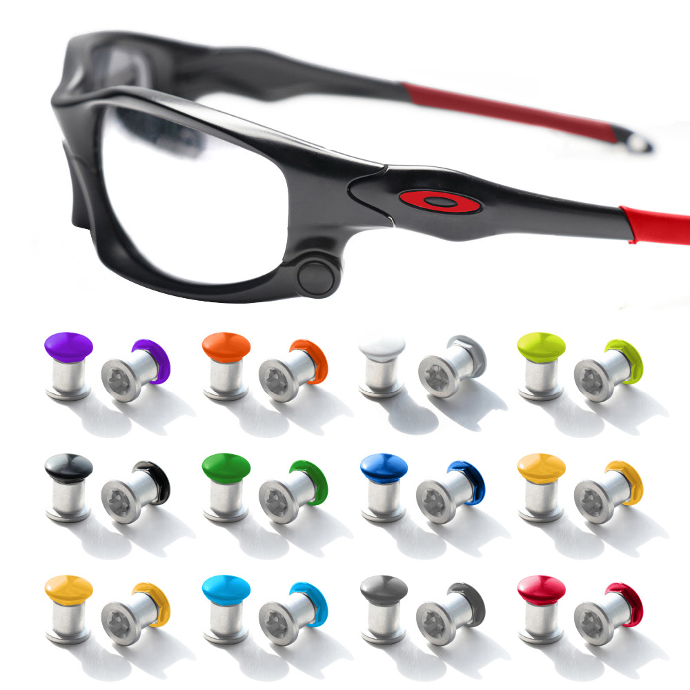 Mryok Stainless Bolt Set Screws For-Oakley Jawbone/Split Jacket/Racing Jacket Sunglasses