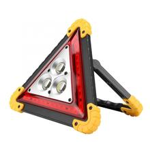 Safety-Stop-Sign Warning-Light Traffic with Red LED Car-Breakdown Cob-Road-Sign Triangle