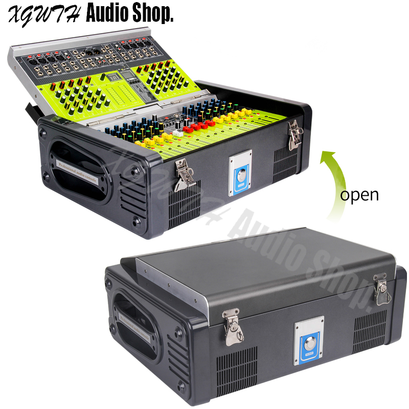 Professional band amplifier mixer 12 digital high power machine stage wedding performance LX12 USB