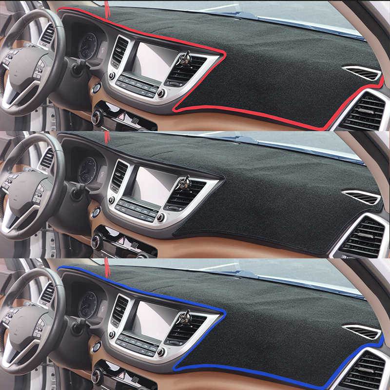 Untuk Toyota Hilux SR5 Revo Hi-Rider 2015-2018 Dashboard Cover Berjemur Shade Non-Slip Dash Mat karpet Mobil Stiker Interior Accessorie