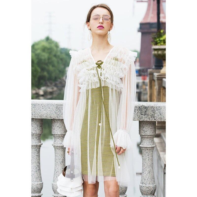 e98908ec15b 4464086807 1095558833 two piece set women dress suits sexy sheer gauze  tulle dress v neck long sleeve fairy 4466704657 1095558833  4466713362 1095558833 ...