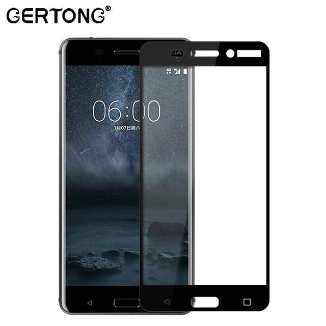 GerTong Премиум закаленное Стекло для Nokia 6 5 3 Анти Shatter красочные Закаленное Экран защитный Плёнка TA-1000 ta -1003 TA-1008