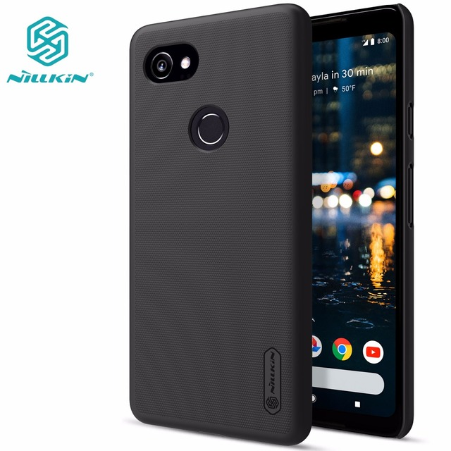 separation shoes e1ff4 e1cfd US $6.65 26% OFF|Google Pixel 2 case Google Pixel 2 XL cover NILLKIN Super  Frosted Shield matte hard back cover-in Half-wrapped Case from Cellphones &  ...