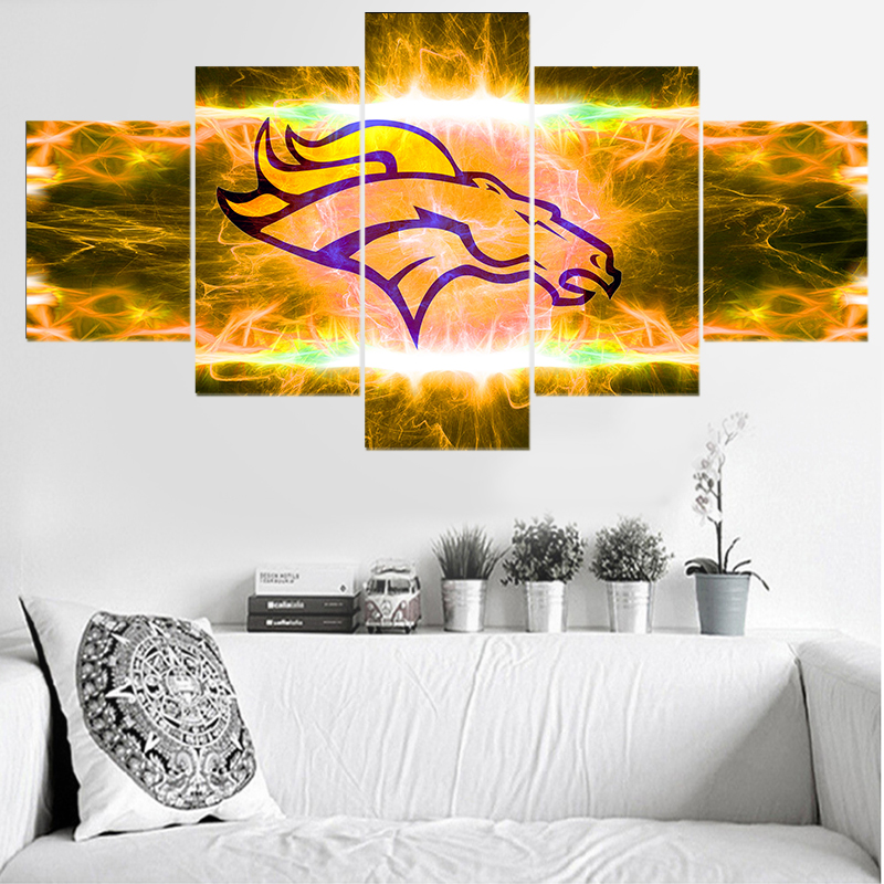 Buy denver broncos canvas painting and get free shipping on ...