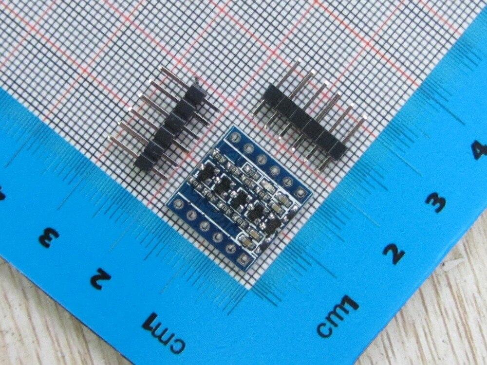 100% New 2pc 5V-3V IIC UART SPI Four Channel Level Converter Module For Arduino