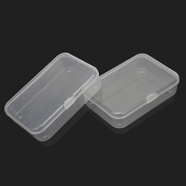 1Pc New Small Plastic Transparent With Lid Collection Container Case Storage Box Hot XN560 & 1Pc New Small Plastic Transparent With Lid Collection Container Case ...