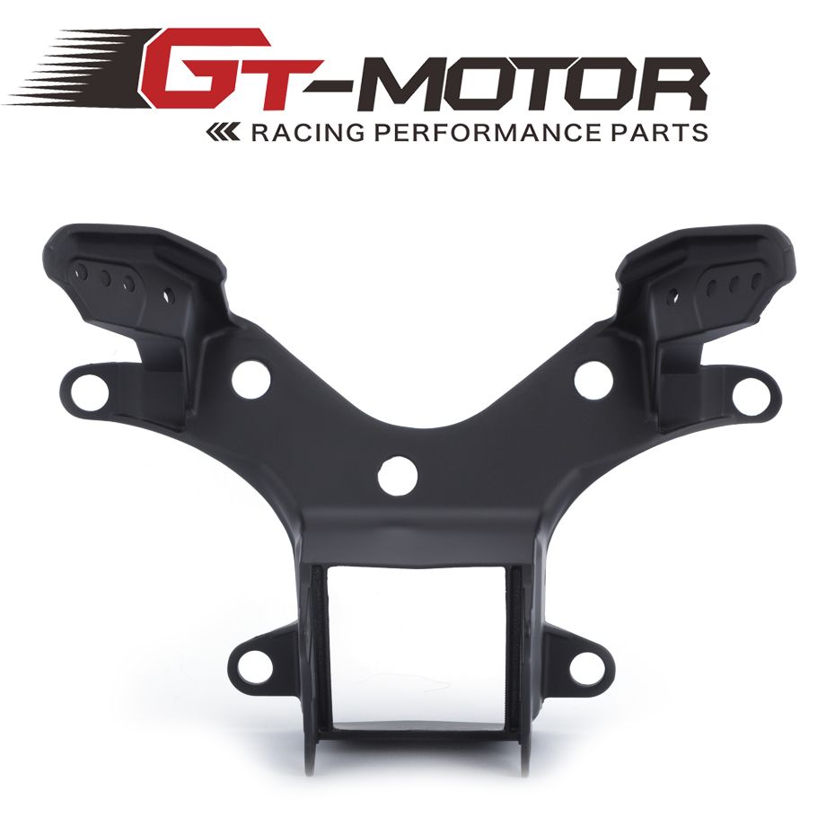 GT Motor - Motorbike Light Holder Upper Front Fairing Cowl Stay Headlight Bracket For Yamaha YZF R6 2008 2009 2010-2015 free shipping upper fairing stay bracket for yamaha r6 2006 2007 r6s 2006 headlight fairing stay bracket