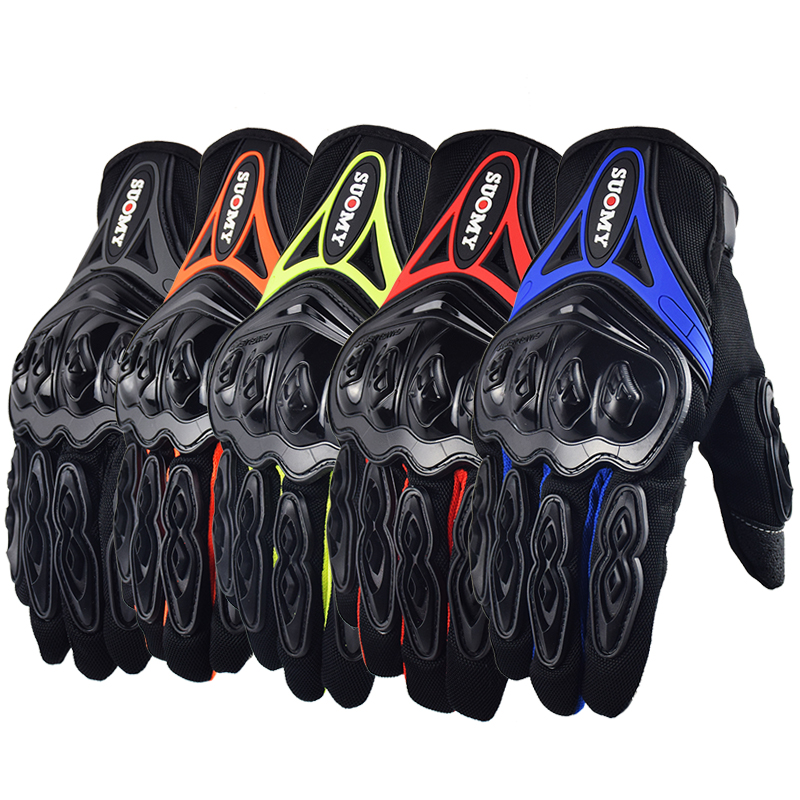 2017 Brand New Suomy Motorcycle Gloves Moto GP Glove Touch Screen For Men women Motocross Cycling Racing Guantes Moto 4 colors