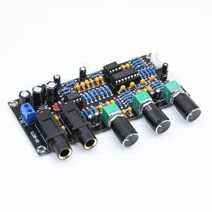 Image 5 - DC 12 В 24 В PT2399 Плата усилителя цифрового микрофона реверберация караоке OK ревербератор усилитель NE5532 предусилитель тональная плата