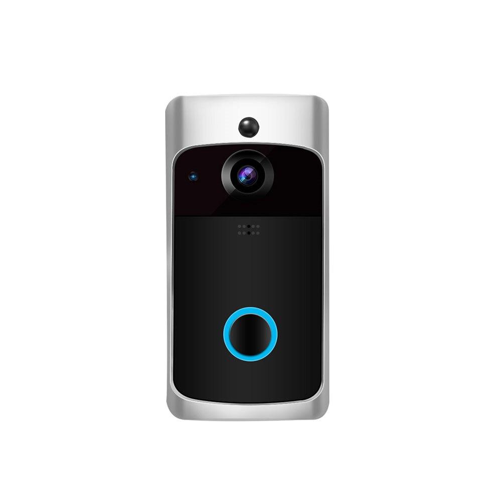 スマート無線 Lan ドアベルカメラ 170 度 IP ビデオインターホン赤外線アラームモーション検出ナイトバージョンビデオドアのベルアパート  グループ上の セキュリティ & プロテクション からの ドアベル の中 1