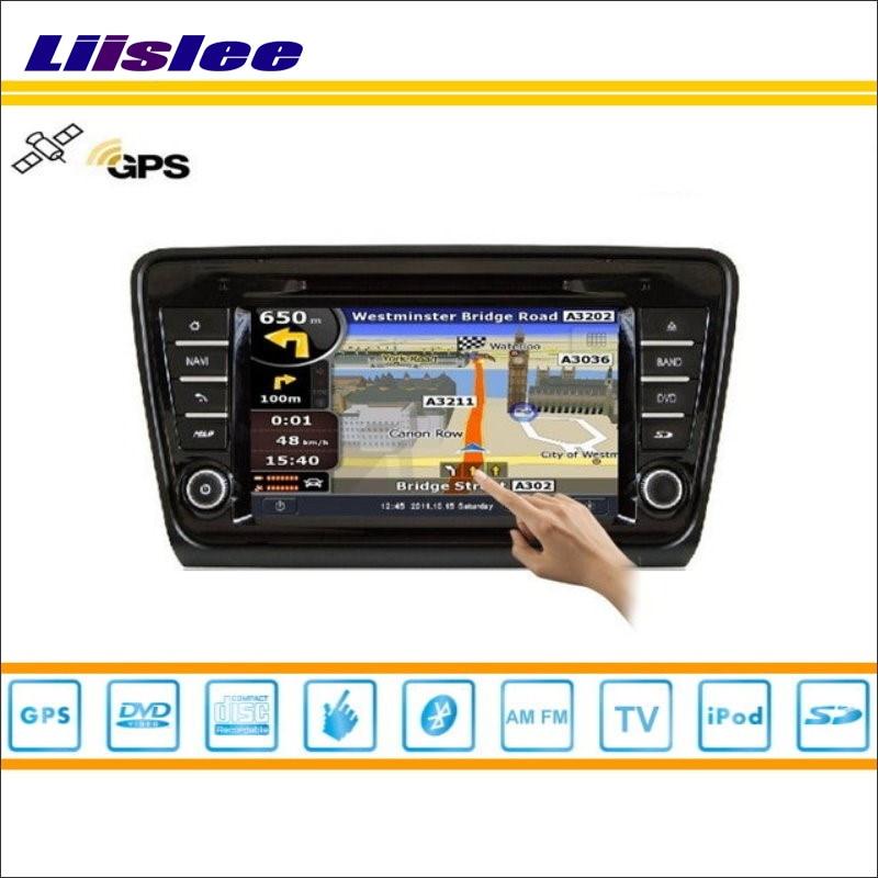 Liislee voiture Android multimédia pour Skoda Octavia MK3 2013 ~ 2014 Radio lecteur CD DVD GPS Navi Navigation Audio vidéo système stéréo